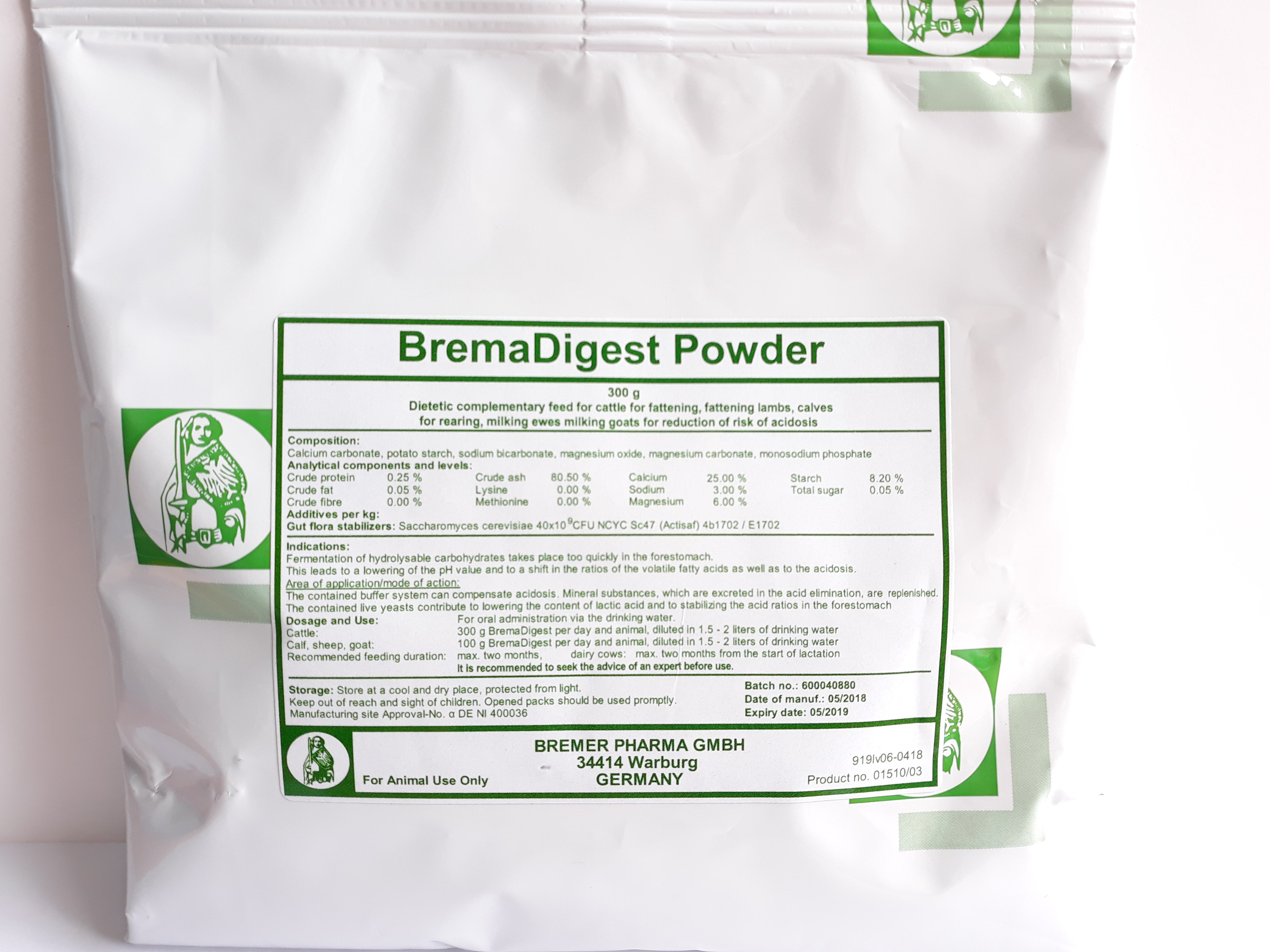 BremaDigest Powder