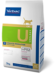 VIRBAC HPM DIET CAT UROLOGY STRUVITE DISSOLUTION