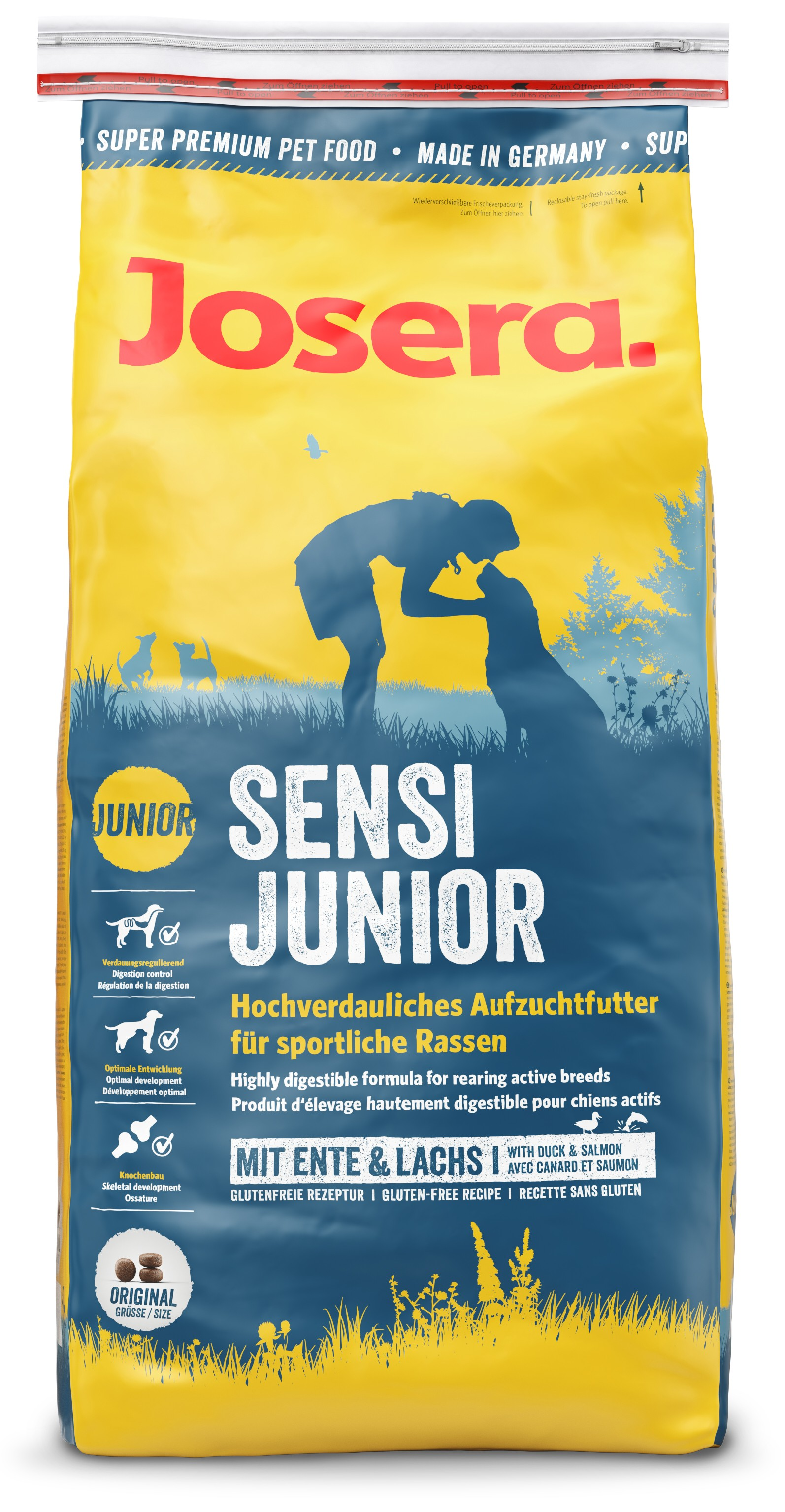 Josera Super Premium Sensi Junior - (new pack)