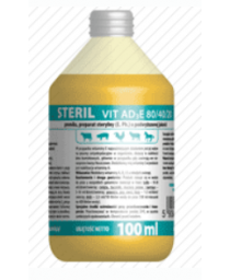 STERIL VIT AD3E 80/40/20 100 ml