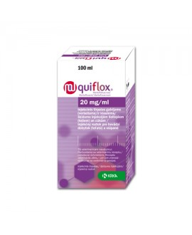 Quiflox 20 mg/ml inj. 100 ml*