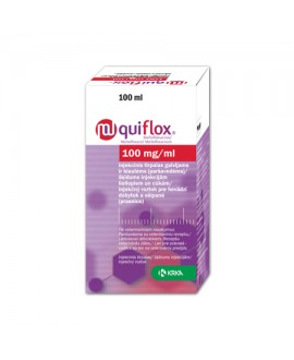 Quiflox 100 mg/ml inj. 100 ml*