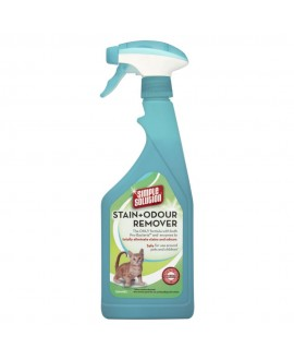 Simple Solution Stain+Odour Remover kaķu 750 ml