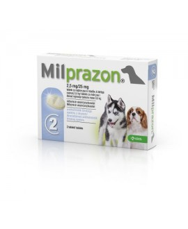 Milprazon 2,5 mg/25 mg tbl. N2*