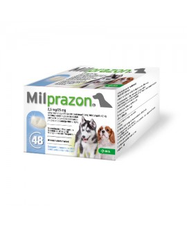 Milprazon 2,5 mg/25 mg tbl. N1