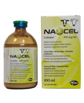 Naxcel Cattle 200 mg/ml 100 ml*