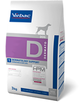 VIRBAC HPM DIET DOG DERMATOLOGY SUPPORT