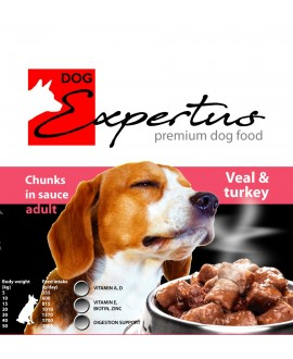 Expertus Veal&Turkey chunks in souce