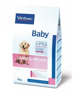 VIRBAC HPM BABY DOG LARGE & MEDIUM SUŅU BARĪBA