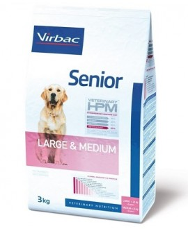 VIRBAC HPM SENIOR DOG LARGE & MEDIUM SUŅU BARĪBA