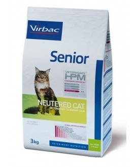 Virbac HPM Cat Senior Neutered kaķu barība