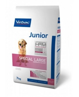 Virbac HPM Dog Junior Special Large Suņu Barība