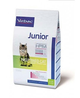 Virbac HPM Cat Junior Neutered kaķu barība