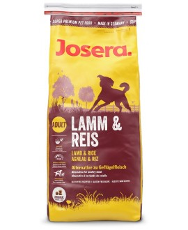 JOSERA SUPER PREMIUM LAMB & RICE