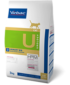 VIRBAC HPM DIET CAT UROLOGY URINARY WIB