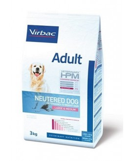 Virbac HPM Dog Adult Neutered Large & Medium Suņu Barība
