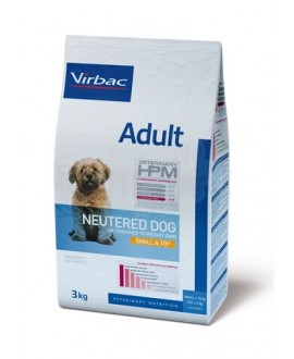 Virbac HPM Dog Adult Neutered Small & Toy Suņu Barība
