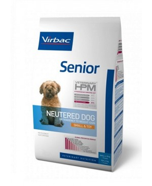 Virbac HPM Dog Senior Neutered Small & Toy Suņu Barība