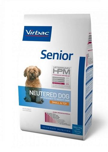 Virbac HPM Dog Senior Neutered Small & Toy Suņu Barība