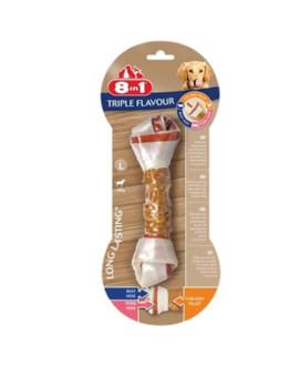 8in1 Triple Flavour kārums suņiem L 85 g N1 kauls košļāšanai ar vistas fileju