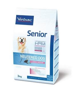 Virbac HPM Dog Senior Neutered Large & Medium Suņu Barība