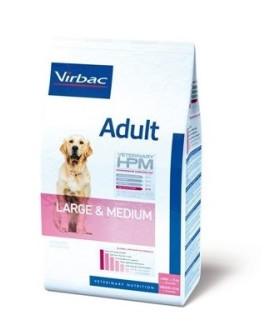 Virbac HPM Dog Adult Large & Medium suņu barība