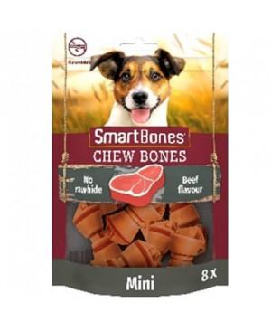 SmartBones kārums suņiem Chew Bones Mini 128 g N8 ar liellopu un vistas fileju