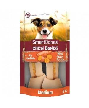 SmartBones kārums suņiem Chew Bones Medium 158 g N2 ar saldo kartupeli un vistas fileju