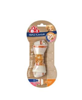 8in1 Triple Flavour kārums suņiem S 35 g N1 kauls košļāšanai ar vistas fileju