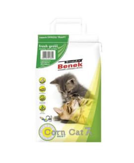 Certech Super Benek Corn Cat 7 L kukurūzas pakaiši ar zāles aromātu dzīvniekiem