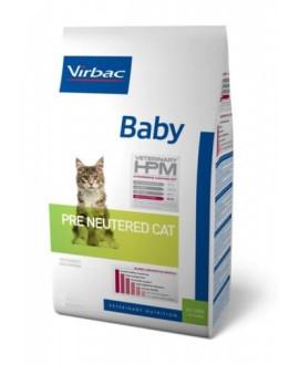 Virbac HPM Cat Baby Pre Neutered kaķu barība