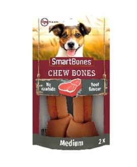 SmartBones kārums suņiem Chew Bones Medium 158 g N2 ar liellopu un vistas fileju