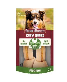 SmartBones kārums suņiem Chew Bones Medium 158 g N2 ar vistas fileju