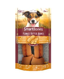 SmartBones kārums suņiem Chew Bones Medium158 g N2 ar zemesriekstu sviestu un vistas fileju