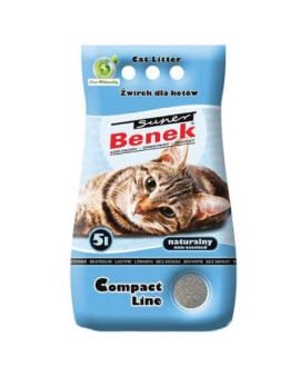 Certech Compact Line Super Benek 5 L smiltis kaķu tualetēm bez aromāta