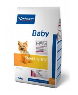 Virbac HPM Dog Baby Small&Toy suņu barība